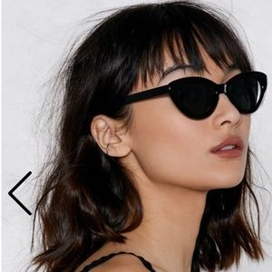 Nasty Gal Cat Eyed Sunglasses